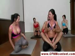 cfnm yoga